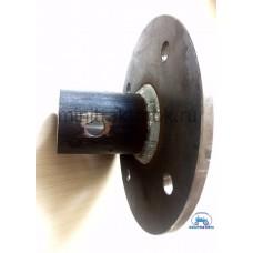 Ступица для мотоблока 4*100 (55 мм., d-30 мм)